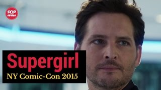 NYCC 2015: Peter Facinelli de Supergirl