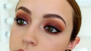 Sunset Bitten Eyes- Makeup Tutorial