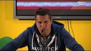 Messina-Ischia 1-1. L'allenatore ospite Maurizi commenta il sesto risultato utile consecutivo