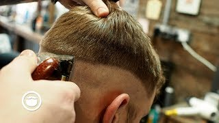 Great Skin Fade Haircut for Men with Receding Hairlines