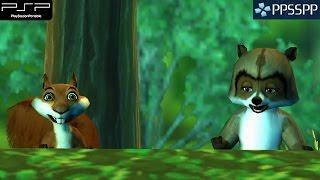 getlinkyoutube.com-Over The Hedge - PSP Gameplay 1080p (PPSSPP)