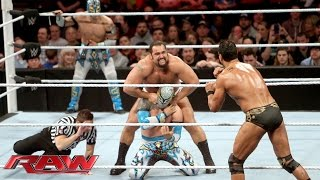 getlinkyoutube.com-The Lucha Dragons vs. Rusev & Alberto Del Rio: Raw, February 8, 2016