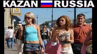 KAZAN RUSSIA , in giro 80% sono ragazze giovani e belle !!!