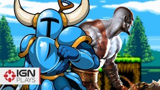 getlinkyoutube.com-Become Kratos in Shovel Knight - IGN Plays