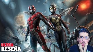 ¡ME HICE FAN! - Ant-Man and The Wasp | Ultra Reseña (mitad sin spoilers)