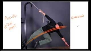 getlinkyoutube.com-Tecnicas para aprender a dibujar - la linea de accion y poses dinamicas