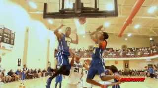 getlinkyoutube.com-Georgia Stars Held Marvin Bagley to 11 points Nike Peach Jam