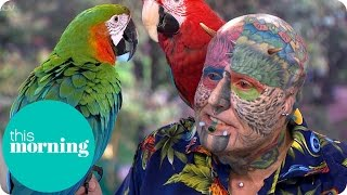 getlinkyoutube.com-Extreme Surgery To Look My Parrots - Ted Parrotman Richards | This Morning