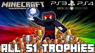 getlinkyoutube.com-Minecraft PS4 - Trophy Guide - ALL 51 TROPHIES! [Tutorial] (PS3, Xbox, Console, PC, Achievements)