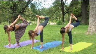getlinkyoutube.com-Yoga Advanced Standing Balancing Poses - GetFitWithLeyla
