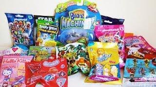 getlinkyoutube.com-17 Blind Packs Ben 10, Mighty Beanz, Cars 2, Power Rangers, Angry Birds, TMNT, Lalaloopsy