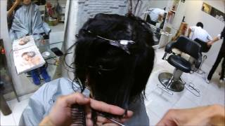 getlinkyoutube.com-【warphair森泉】アシメ&刈り上げ女子のパーマスタイル