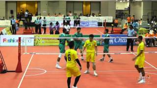 Sepak Takraw Prince Cup 2014 - Day 3 Highlights