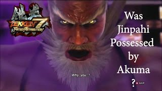 getlinkyoutube.com-Tekken 7 Theory: Was Jinpachi Possessed by Akuma?