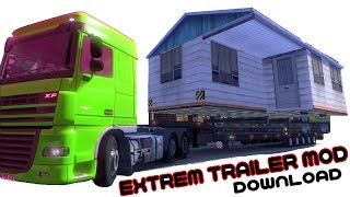 Extrem Trailer Mod Download ETS 2 HD