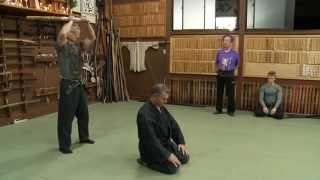 getlinkyoutube.com-Ninja Godan Test (5th Degree Black Belt) Ninja Grandmaster Masaaki Hatsumi Sensei Bujinkan Ninjutsu