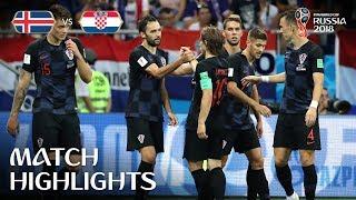 Iceland v Croatia - 2018 FIFA World Cup Russia™ - Match 40 width=