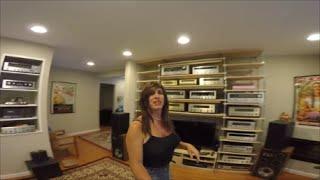 getlinkyoutube.com-My Vintage Audio Collection....Fisher, Pioneer, Marantz, Kenwood, Nikko, Sansui,  HH Scott, Magnavox