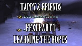 getlinkyoutube.com-Happy & Friends - FFXI Part 1: Learning the Ropes