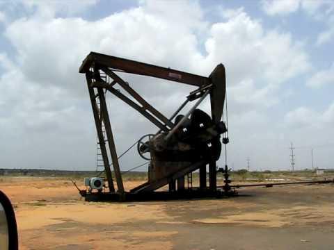 Balancín petrolero en Morichal