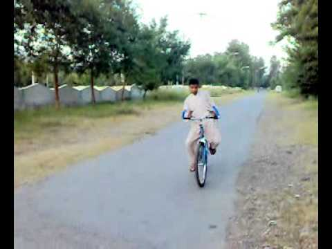 cycle wheeling in pof havelian cantt