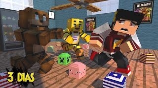 getlinkyoutube.com-Minecraft: SURVIVAL LUCKY - 3 DIAS DE  FIVE NIGHTS AT FREDDY's ‹ AM3NIC ›