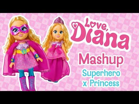 Love Diana 13 inch Doll Mashup Princess