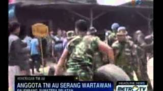 getlinkyoutube.com-Oknum TNI Serang Warga dan Jurnalis di Palembang