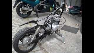 getlinkyoutube.com-Suzuki GZ 125 ccm Marauder Dragstyl/Custom/Bobber/Chopper Build Story Part1 {THE STRIP} HD