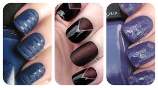 3 Matte Nail Art Tutorials | Easy Nail Art For Beginners | ArcadiaNailArt