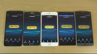 getlinkyoutube.com-Internet Speed Test - Z5 Premium VS Note 5 VS iPhone 6S+ VS LG V10 VS Nexus 6P!