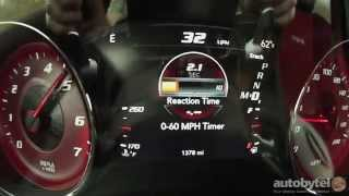 getlinkyoutube.com-2015 Dodge Charger SRT Hellcat 0-60 MPH Test Video - 707 HP Supercharged 6.2 Liter Hemi V-8