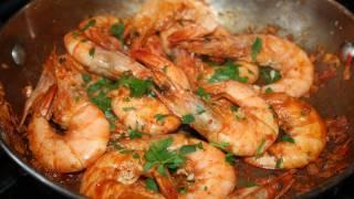 getlinkyoutube.com-Blazing Jamaican Peppered Shrimp.