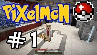 "getlinkyoutube.com-Minecraft Pixelmon - E01 ""Professor Paul!"" (Pokemon Mod for Minecraft!)"