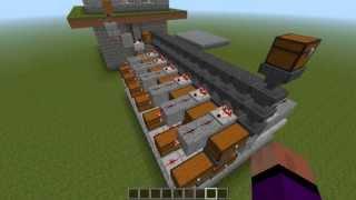 getlinkyoutube.com-Minecraft 1.5.1 vollautomatische Sortieranlage Tutorial HD