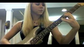 getlinkyoutube.com-Best female guitarist in the country! Amazing girl shredder really rocks!