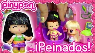 Pinypon en español en la Peluquería con Rapunzel