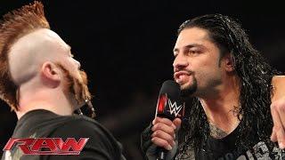 getlinkyoutube.com-Roman Reigns demands a rematch with Sheamus: Raw, November 23, 2015