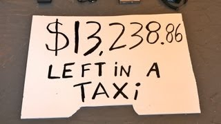 getlinkyoutube.com-$13,238.86 left in a NYC taxi