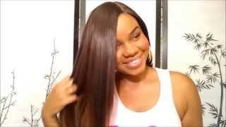 getlinkyoutube.com-Freetress Equal Lace Wig Deep Invisible Part - KENZIE