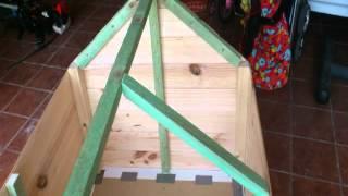 getlinkyoutube.com-Construir caseta de madera para perro