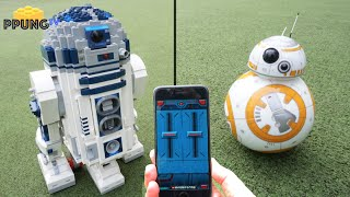getlinkyoutube.com-LEGO Star Wars 10225 - RC motorized R2D2 & Sphero BB-8 by 뿡대디
