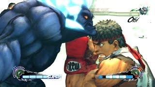 getlinkyoutube.com-Ultra Street Fighter 4 - Ryu 60FPS Gameplay Playthrough + Secret Shin Oni Boss Fight