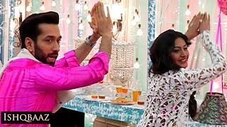 getlinkyoutube.com-Ishqbaaz Shivaay & Anika's NAAGIN DANCE | Unseen VIDEO