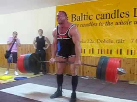 Konstantinovs станoвая 426 кг