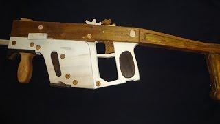 getlinkyoutube.com-Kriss Super Vector de Madeira [ Rubber Band Gun ]