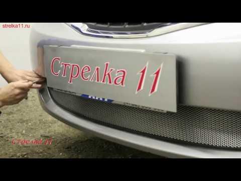 Защита радиатора SUBARU IMPREZA III 2007-2011г.в. (Хром) - strelka11.ru