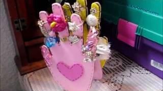 getlinkyoutube.com-Organizador de anillos de carton .. hazlo tu misma!..