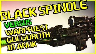 getlinkyoutube.com-Destiny - Black Spindle Versus Warpriest, Golgoroth, and Ir Anuk - Exotic Sniper