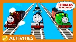 getlinkyoutube.com-Happy or Sad Play Along | Thomas & Friends